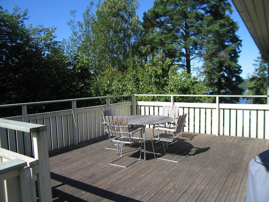 Terrassen innan omdaningen. Foto: Anna Skjönsberg