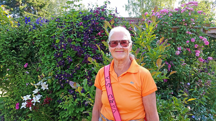 Ulla Eriksson. Foto: Kerstin Engstrand
