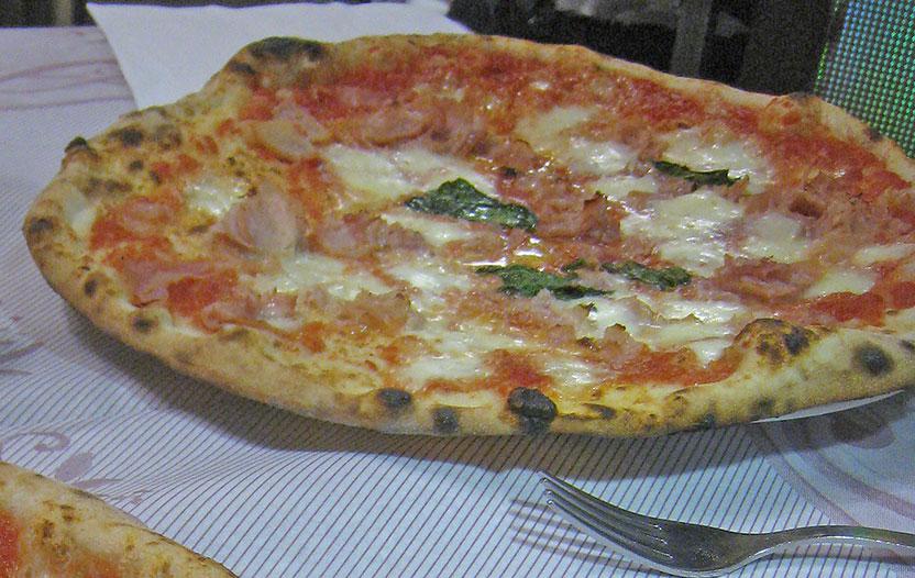 Klassisk pizza.