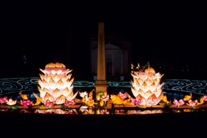Och på kvällen. Foto: Chickwick House/Magical Lantern Festival
