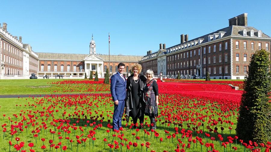 Philip, Lynn och Margaret Foto: Kerstin Engstrand