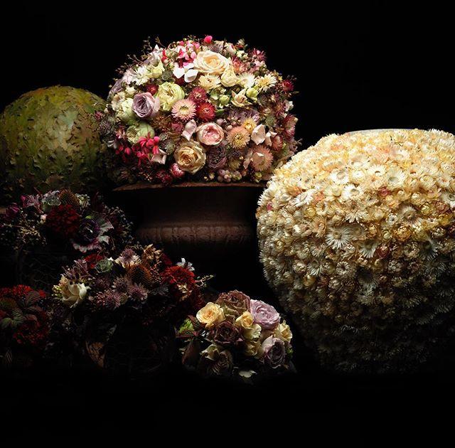 Arrangemang skapade av en av Sveriges skickligaste florister, Fredrik Larsson, Bloem.se. Foto: Fredrik Larsson på Instagram