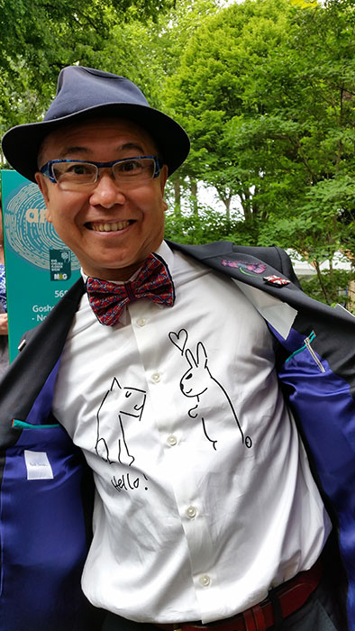 Kazuyuki Ishihara. Foto: Kerstin Engstrand
