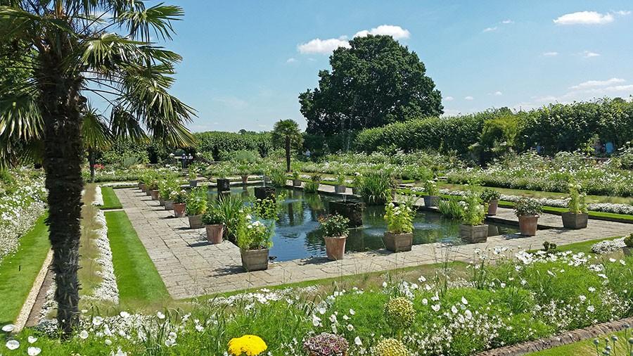 The Sunken Garden sommaren 2017. Foto: Kerstin Engstrand