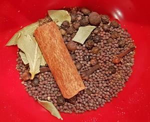 Exempel på kryddblandning, denna är till receptet Canada 2. Foto: Kerstin Engstrand