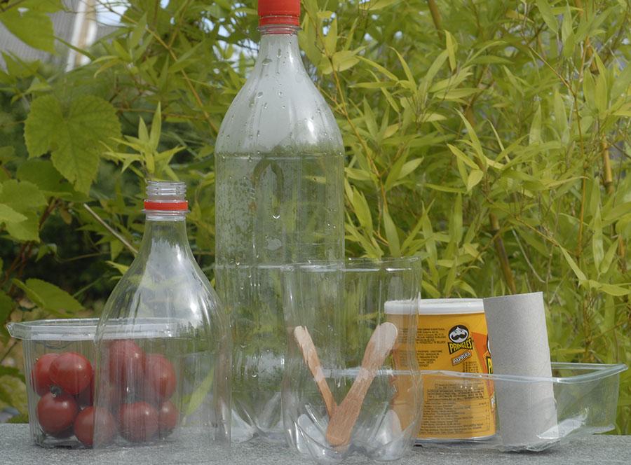 I princip allt går att använda, glasspinnar blir bra såetiketter. Foto: Kerstin Engstrand