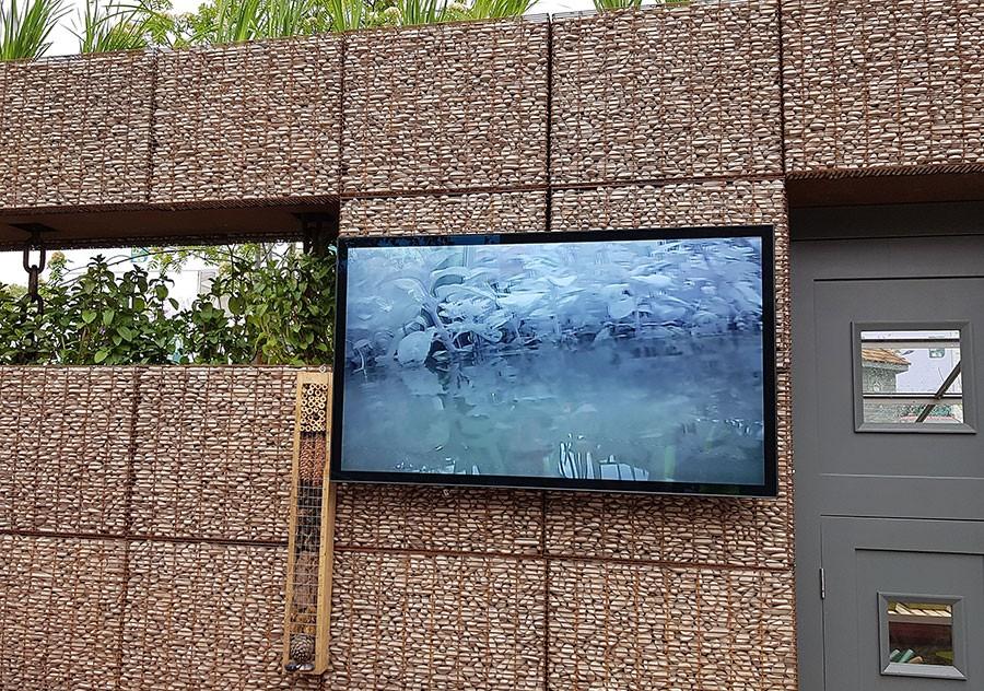 Som gör att man på en skärm kan se vad som finns i vattnet!  Foto: Kerstin Engstrand